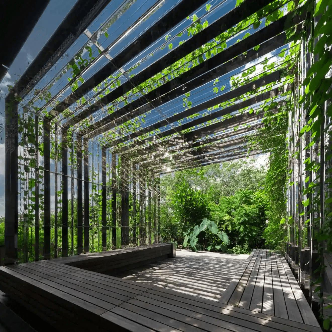 OUE Downtown gallery edible garden city - hidden gardens singapore