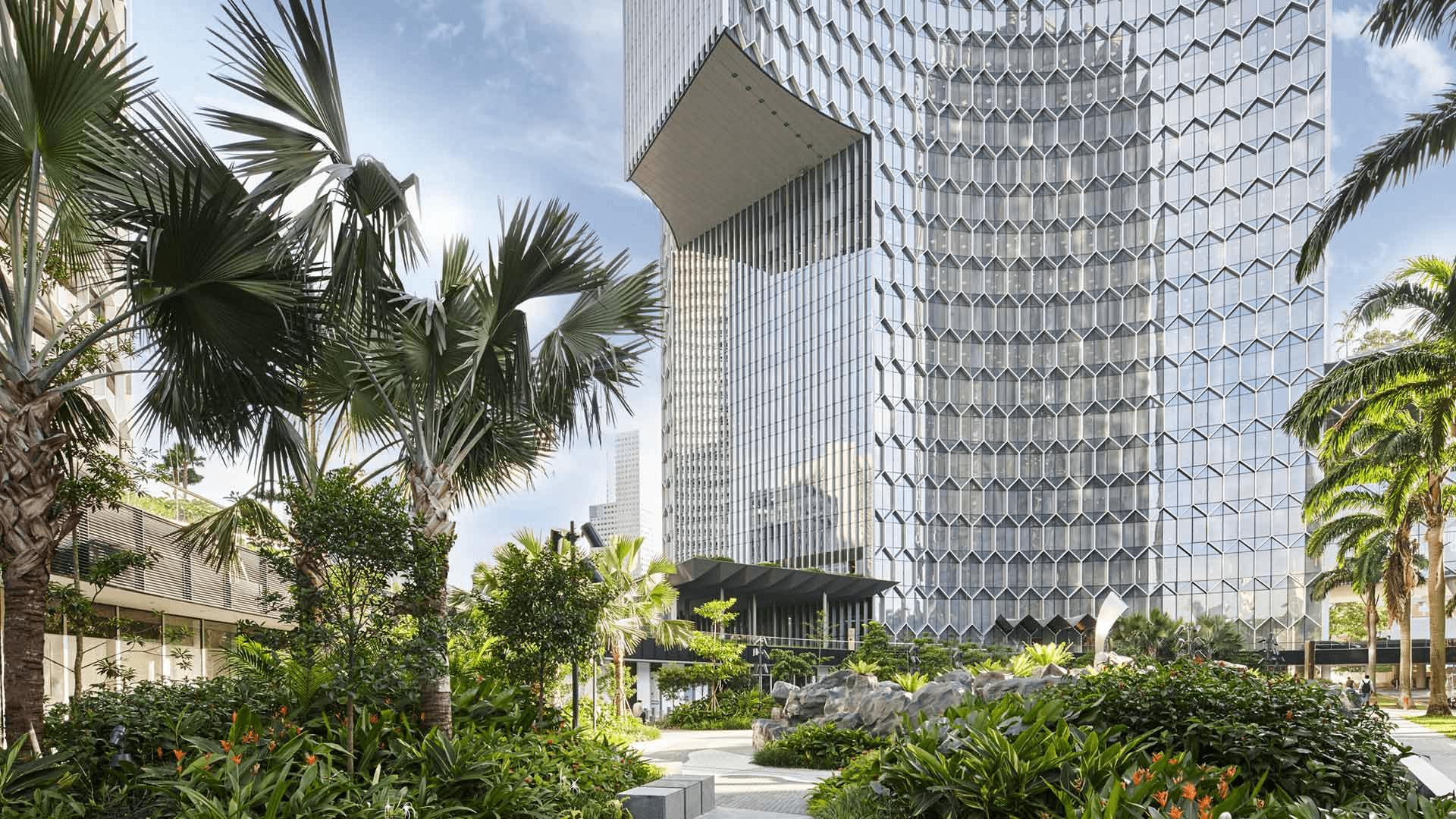 Duo Galleria garden singapore