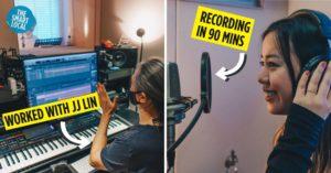ck star recording studio singapore