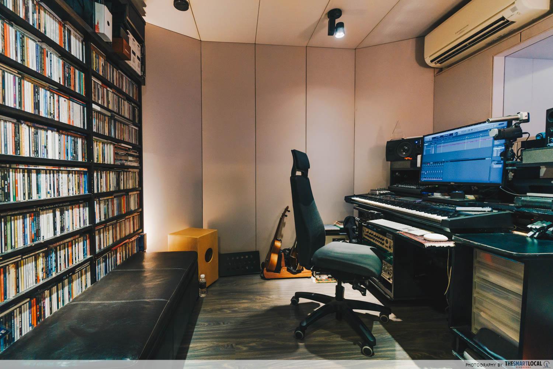 home mixing studio