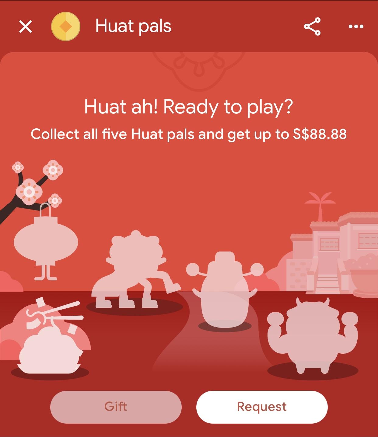 Huat Pals - collecting pals