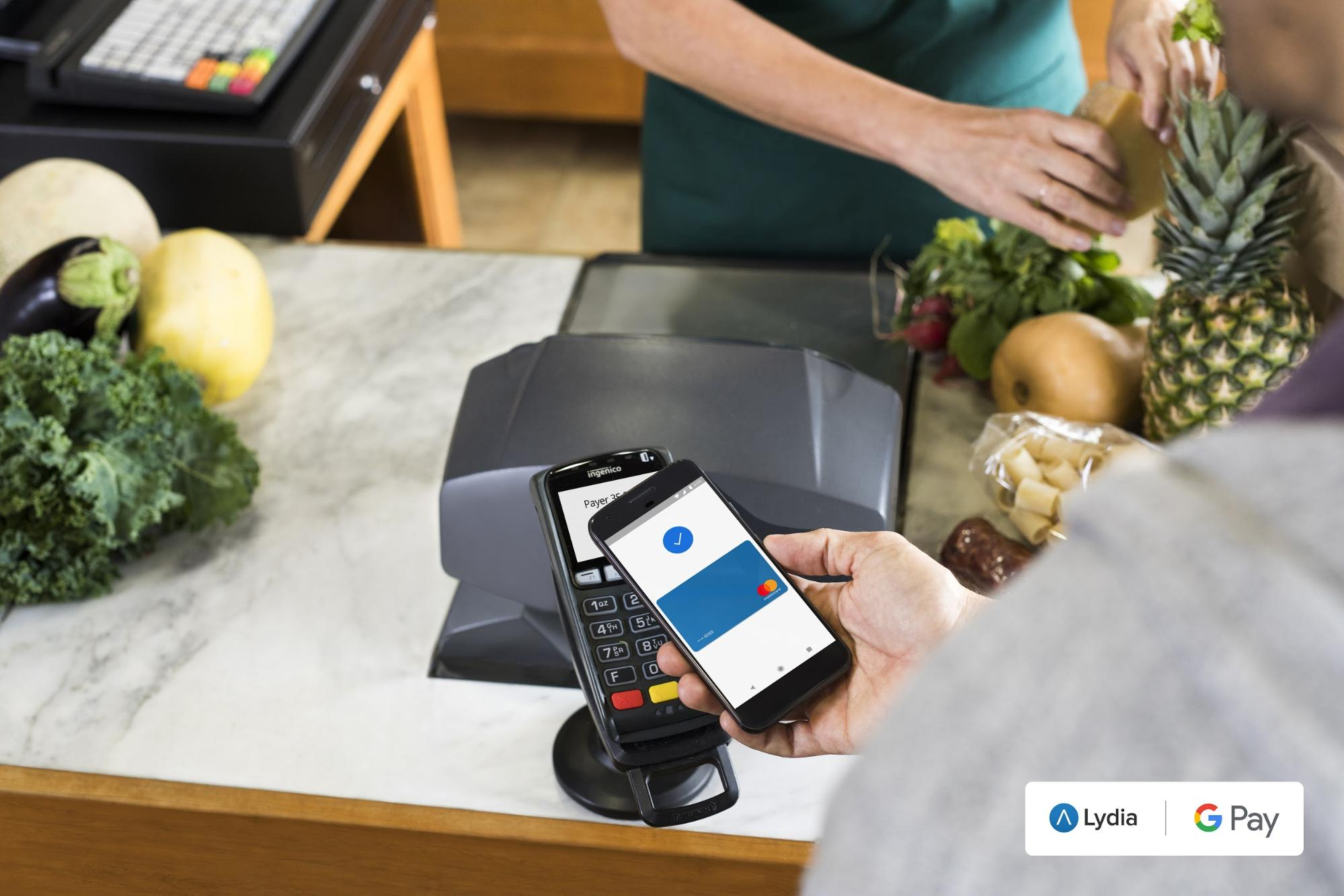 Google Pay mobile payment
