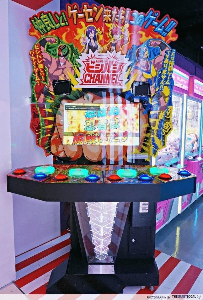 bishi bashi 90s arcade games