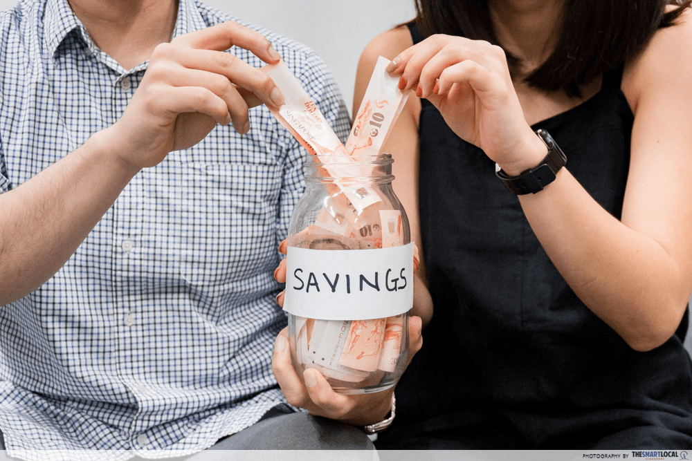 personal finance tips - savings