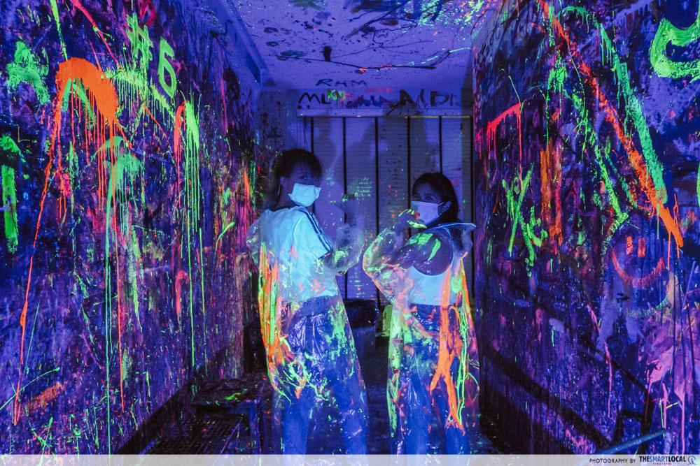 splat paint house