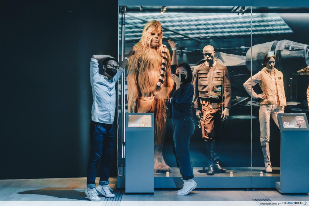 star wars identities artscience museum cover (3) chewbacca costume