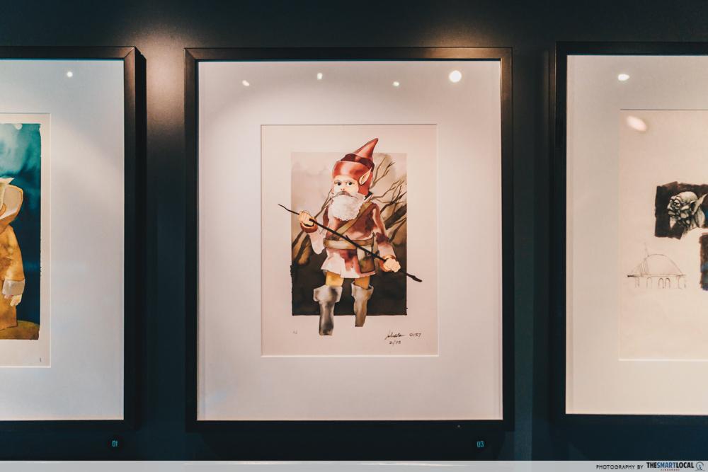 star wars identities artscience museum (7) yoda concept art