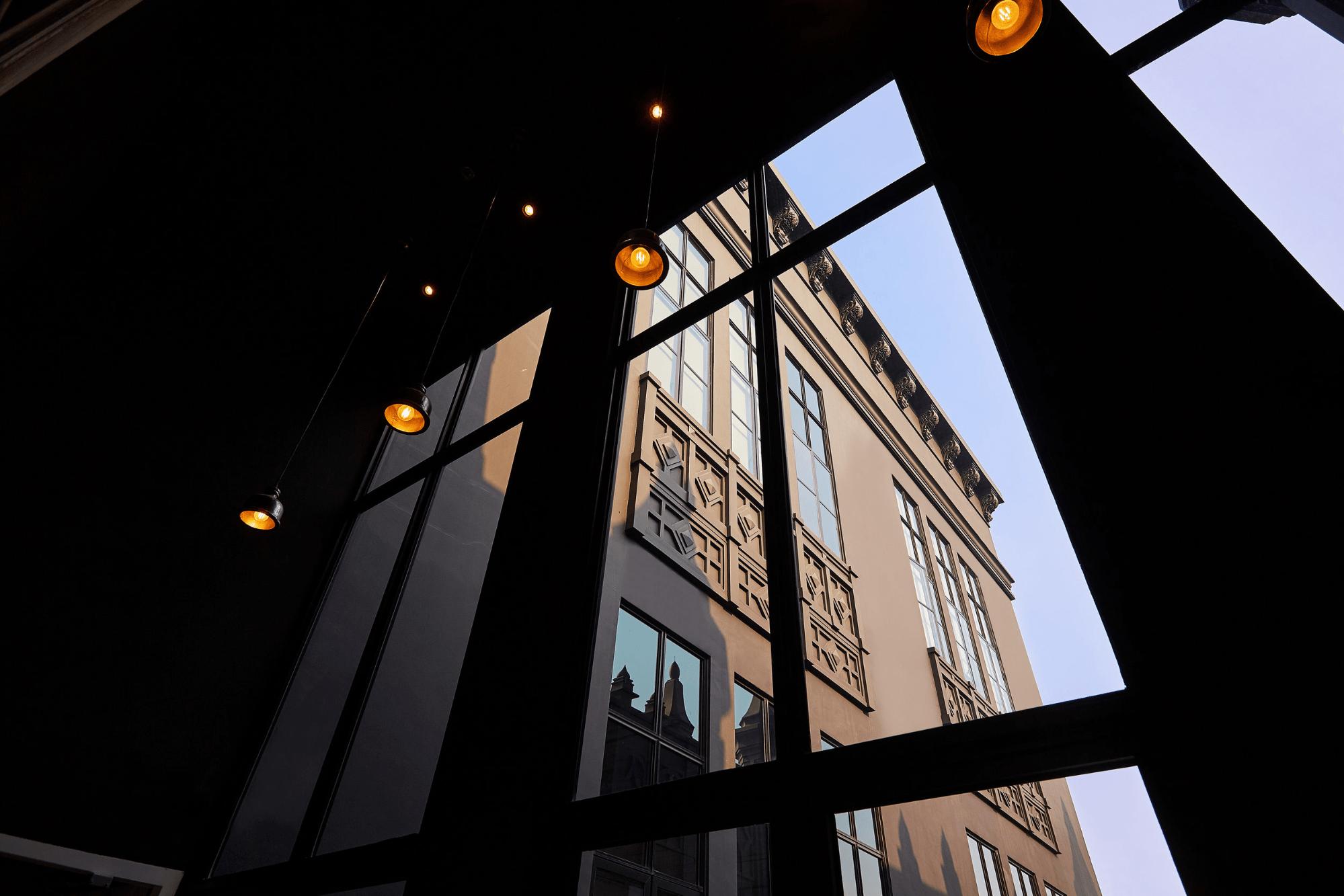The Mill windows