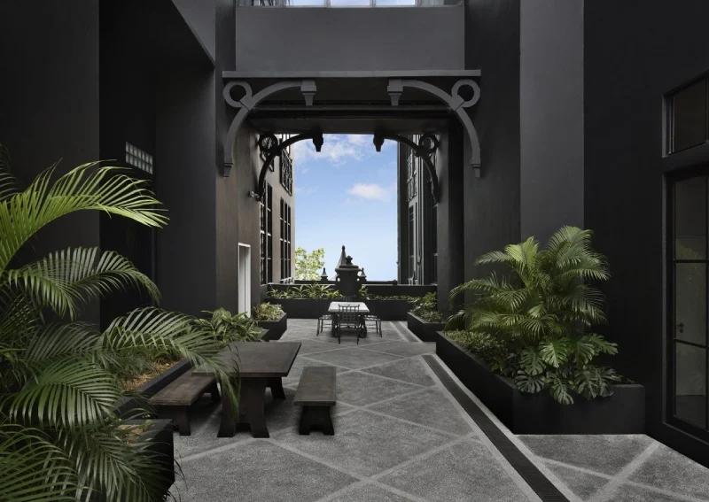 The Mill - garden terrace