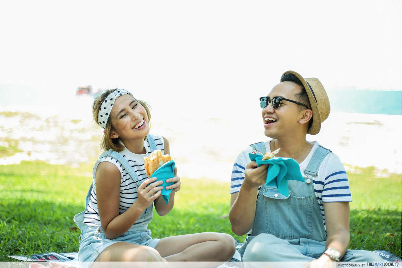 valentines day date ideas (1) - picnic on lazarus island