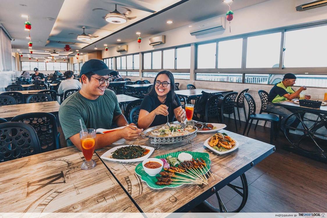 halal restaurant at woodlands waterfront park rasa istimewa waterfront restaurant