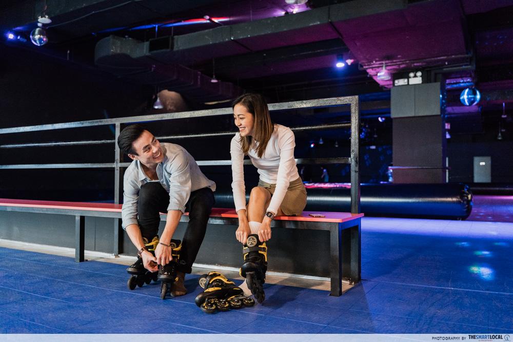valentines day date ideas (7) - hi-roller roller skating rink