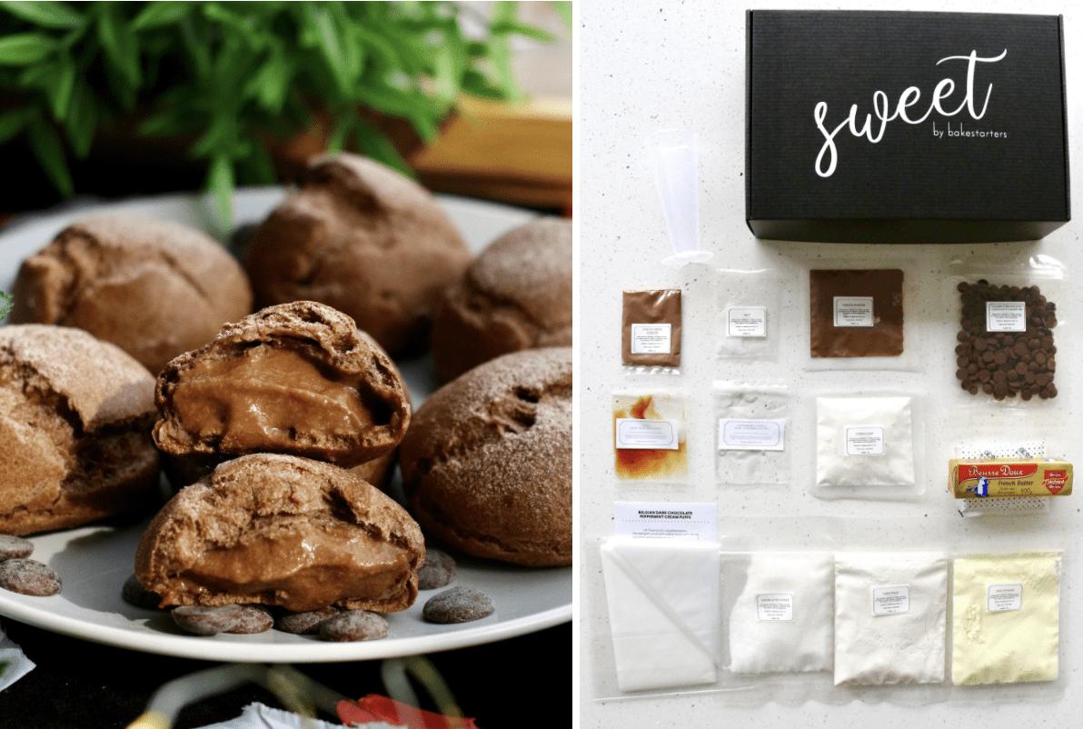 valentine's day gifts - DIY Belgian chocolate puff kit