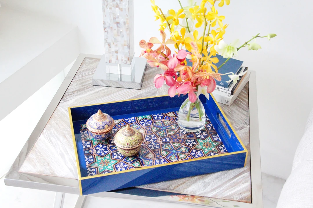 Lacquer tray from SCENE SHANG