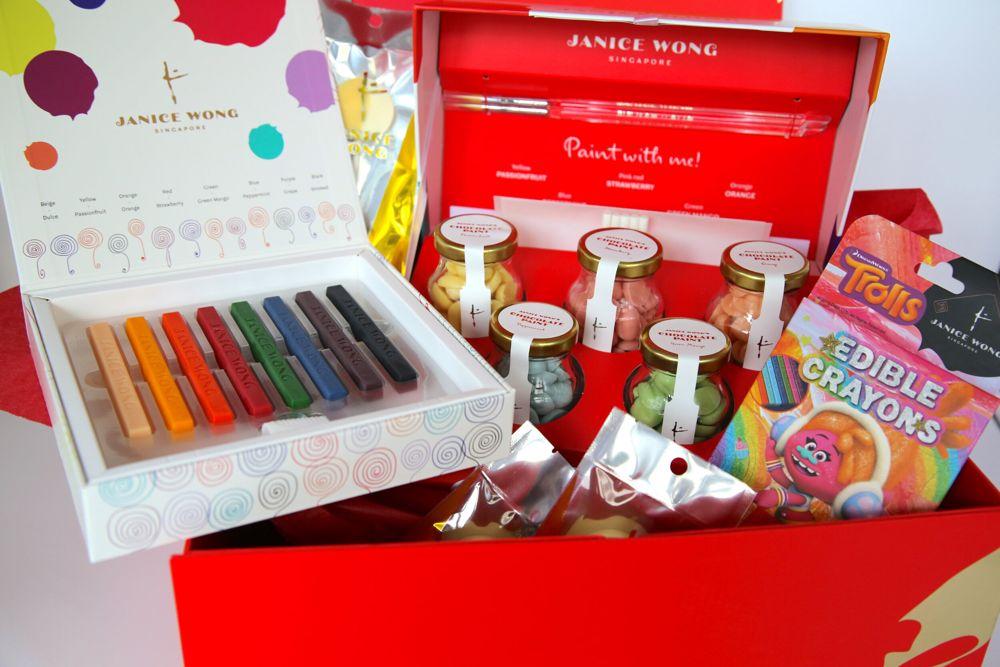 Janice Wong Edible Art Jam Hamper