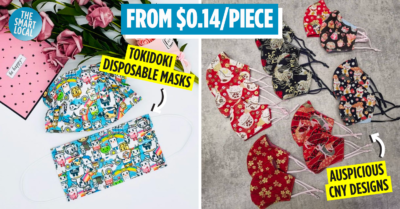 fashionable cny masks for chinese new year 2021