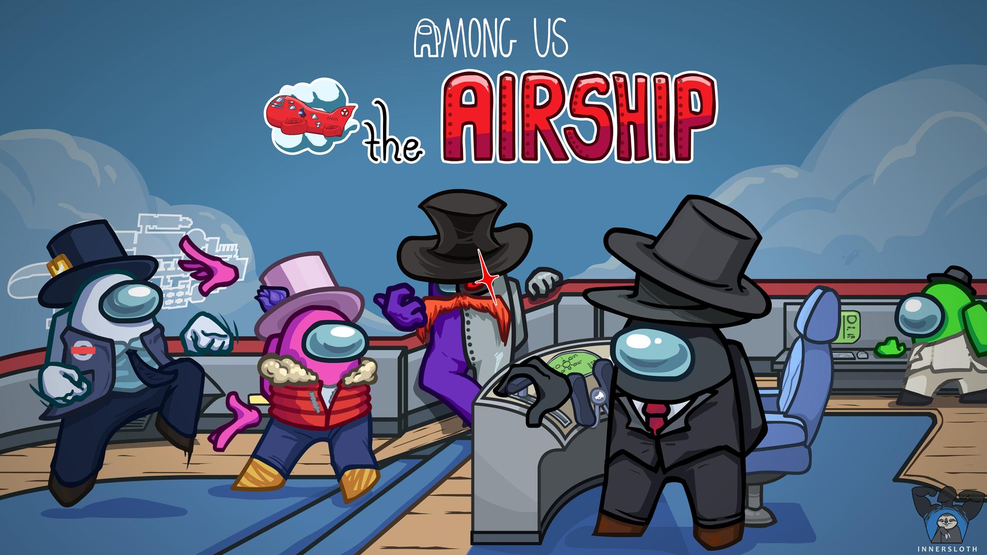 Among Us Airship