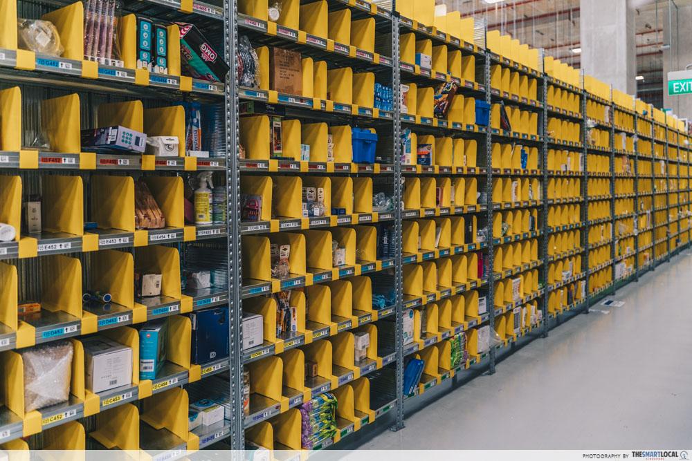 picking shelves