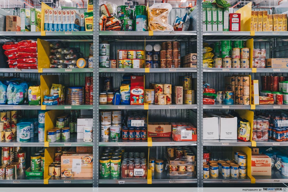 amazon fresh shelves
