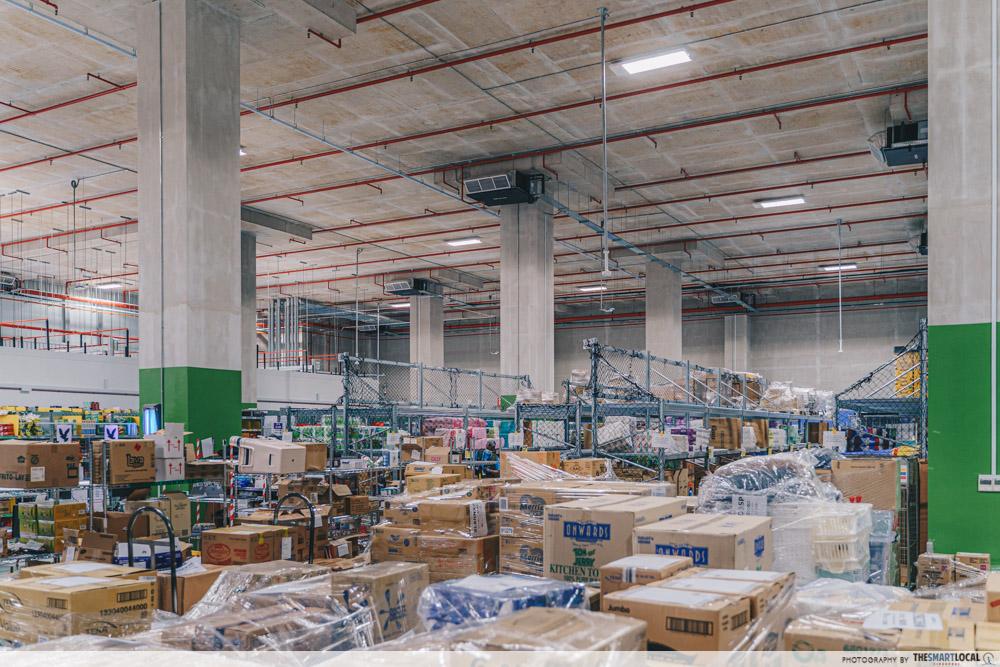 amazon fresh fulfilment centre