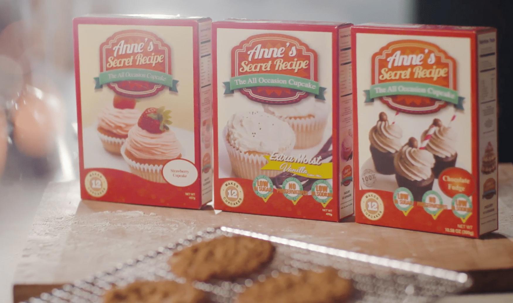 Anne's Secret Recipe Box