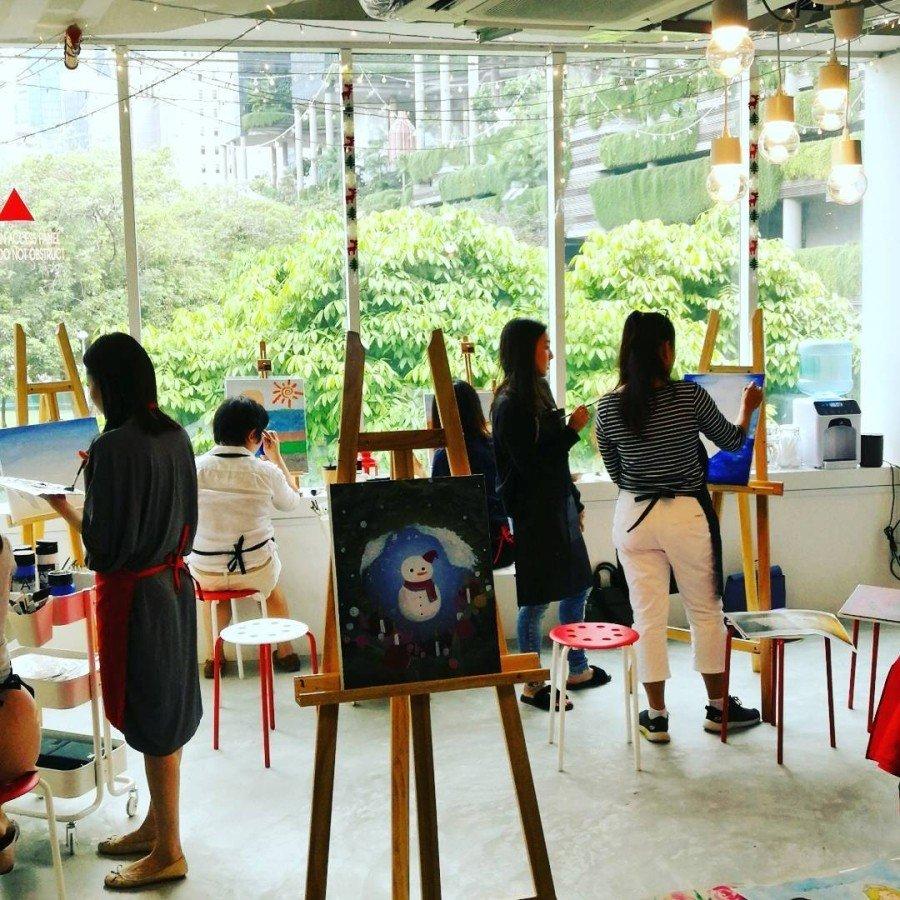 art jamming singapore - LionHeart Studio