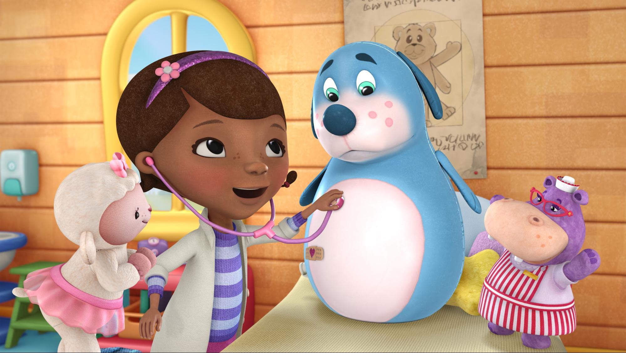 Best Disney Plus Shows For Toddlers - Doc Mcstuffins