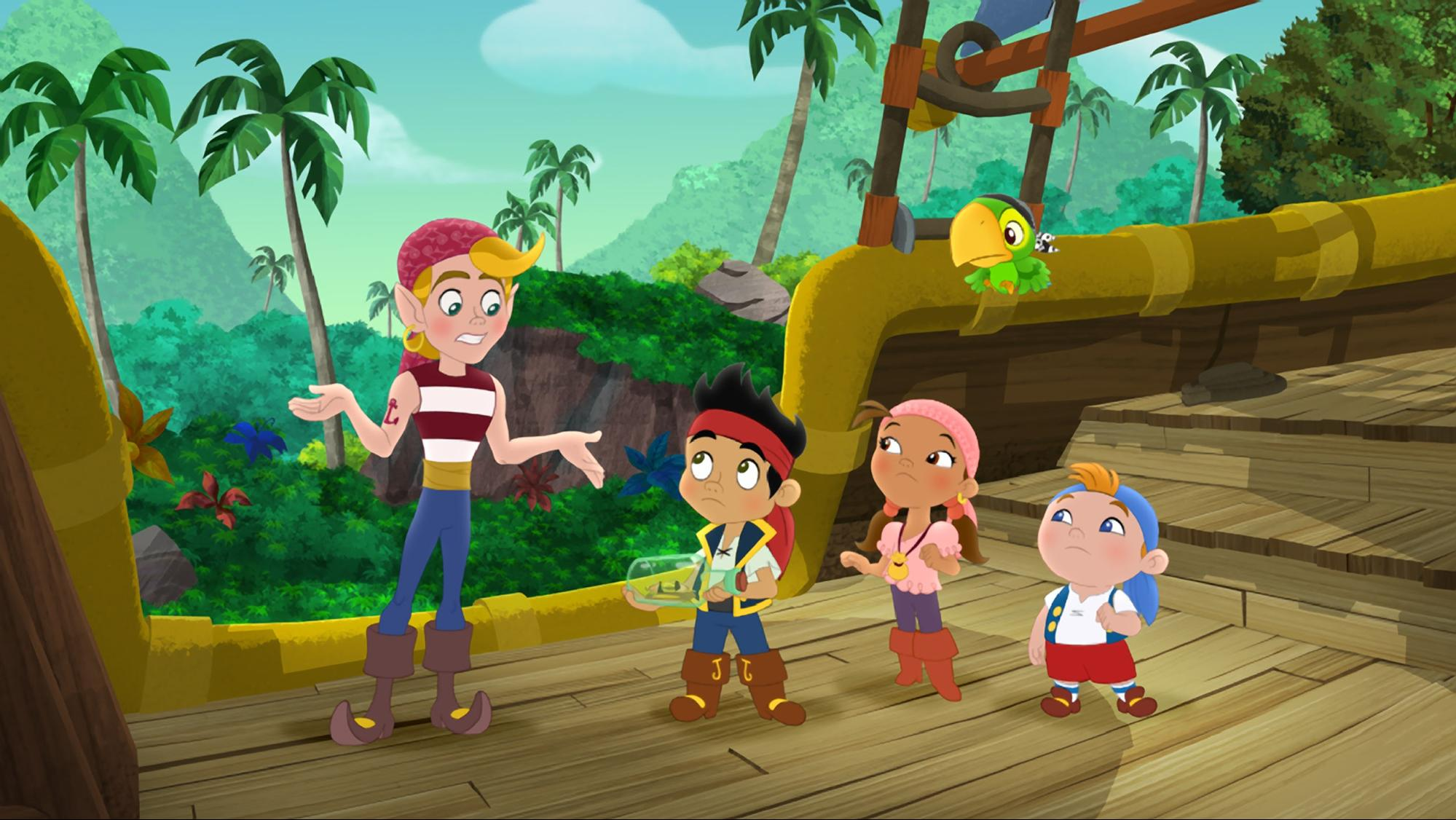 Best Shows For Toddlers - Jake and The Neverland Pirates