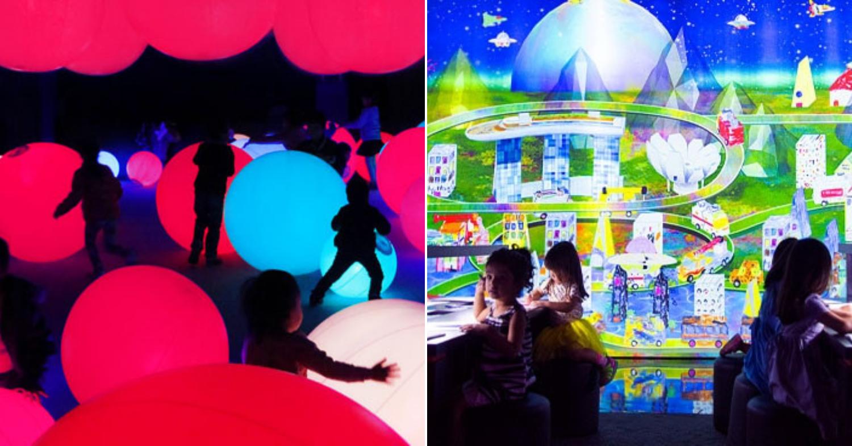 Best Indoor Playgrounds In Singapore - ArtScience Museum Future World