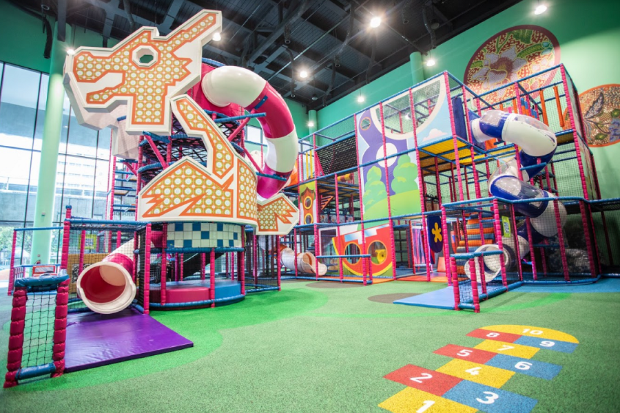 Best Indoor Playgrounds In Singapore - T-Play Indoor Playground Hometeam NS Khatib