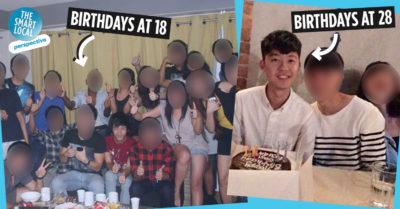 Big birthday celebrations in Singapore