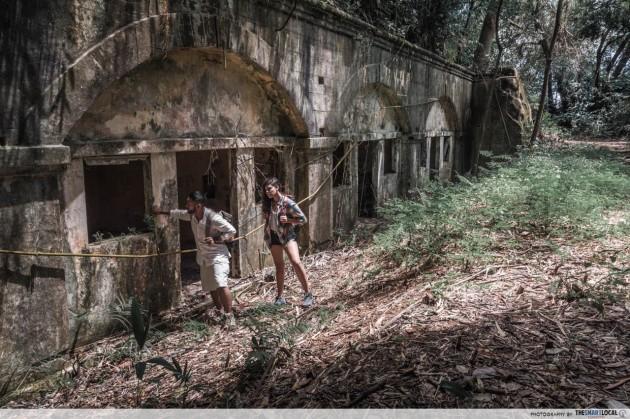 Fort Serapong Casemates