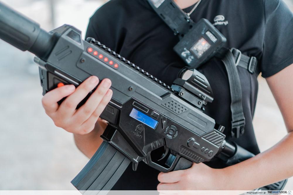 GO Team Laser Tag Equipment