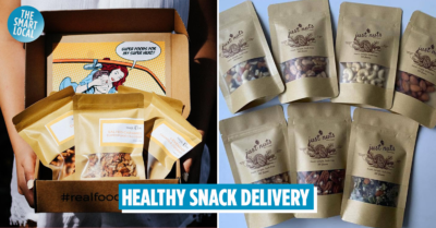 Healthy snacks delivery service Singapore - Just Nuts (1)