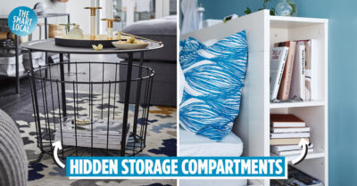 HDB Storage Tips To Conceal Clutter