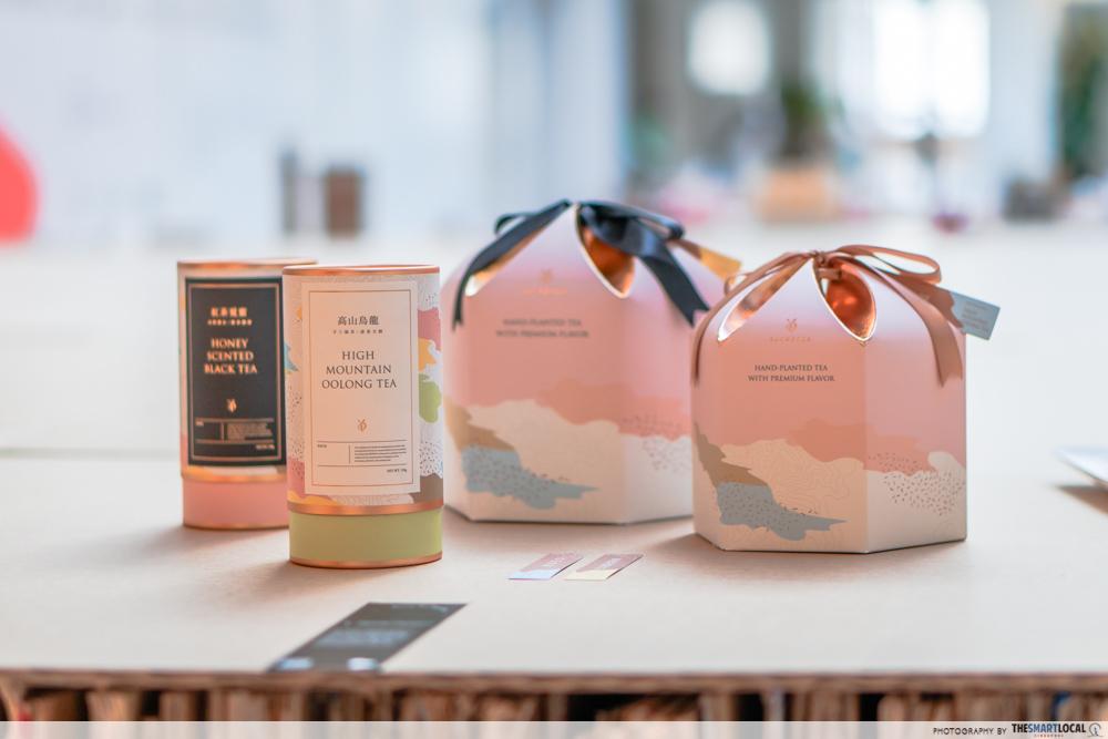 Oolong Tea Blend Packaging