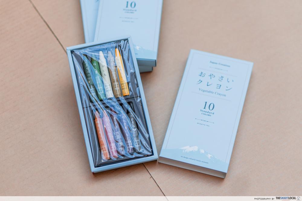 Japanese Vegetable Crayons Edible