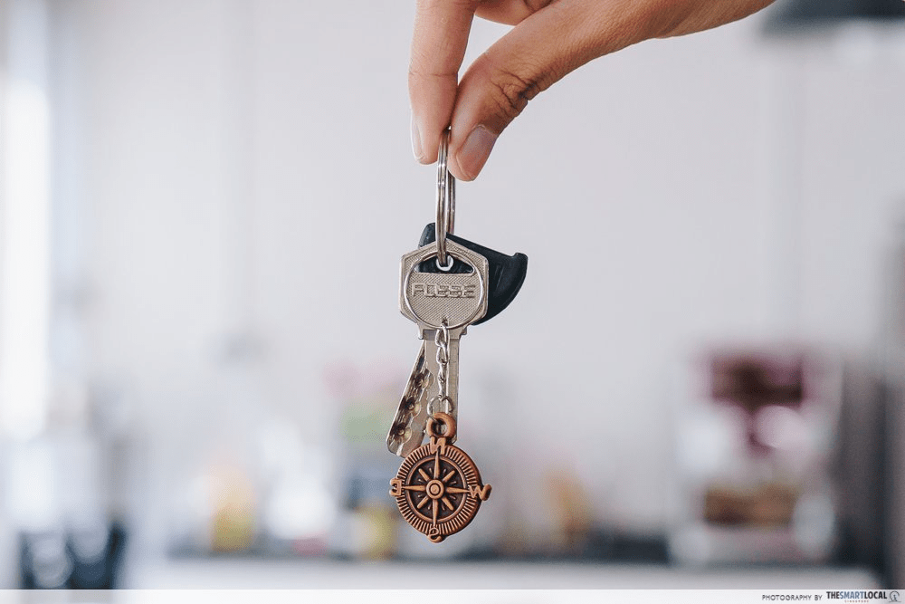 Keys to your first HDB
