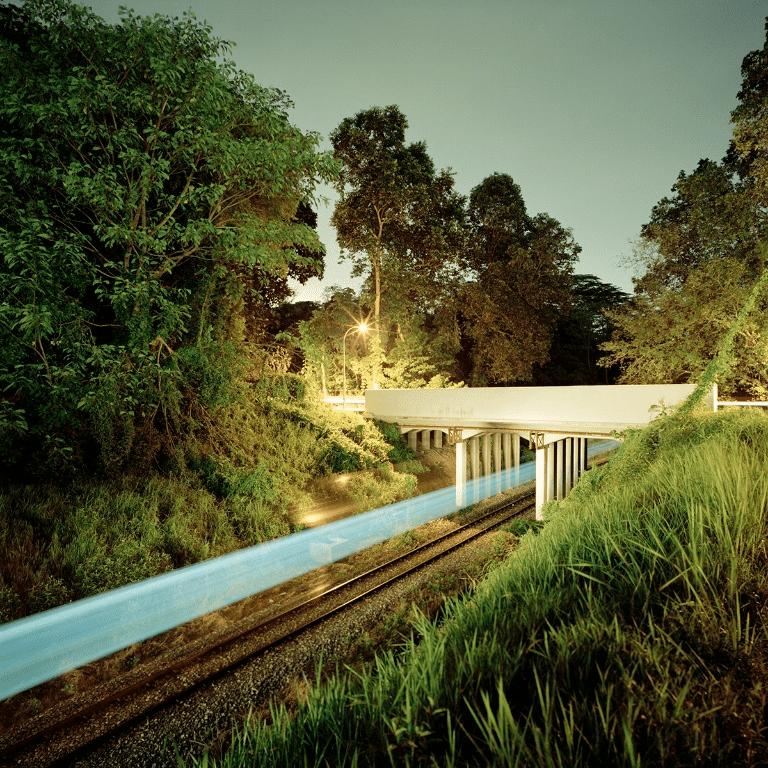 Last KTM train in Singapore