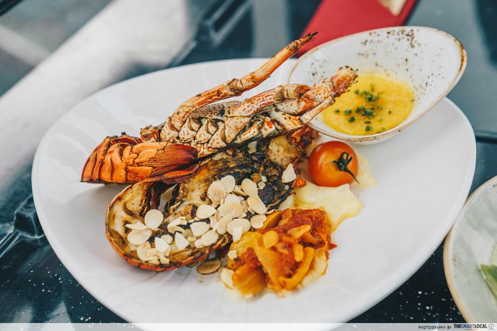 Lobster meal option