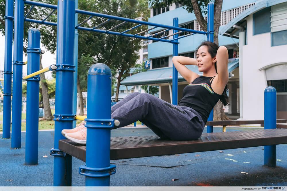 Fitness Exercise Corner Singapore Sit-ups