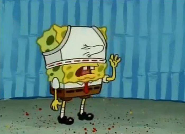 spongebob underwear