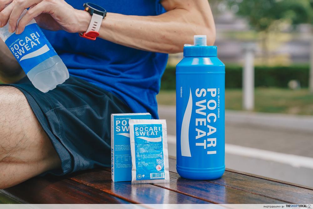 ippt running tips - Pocari Sweat