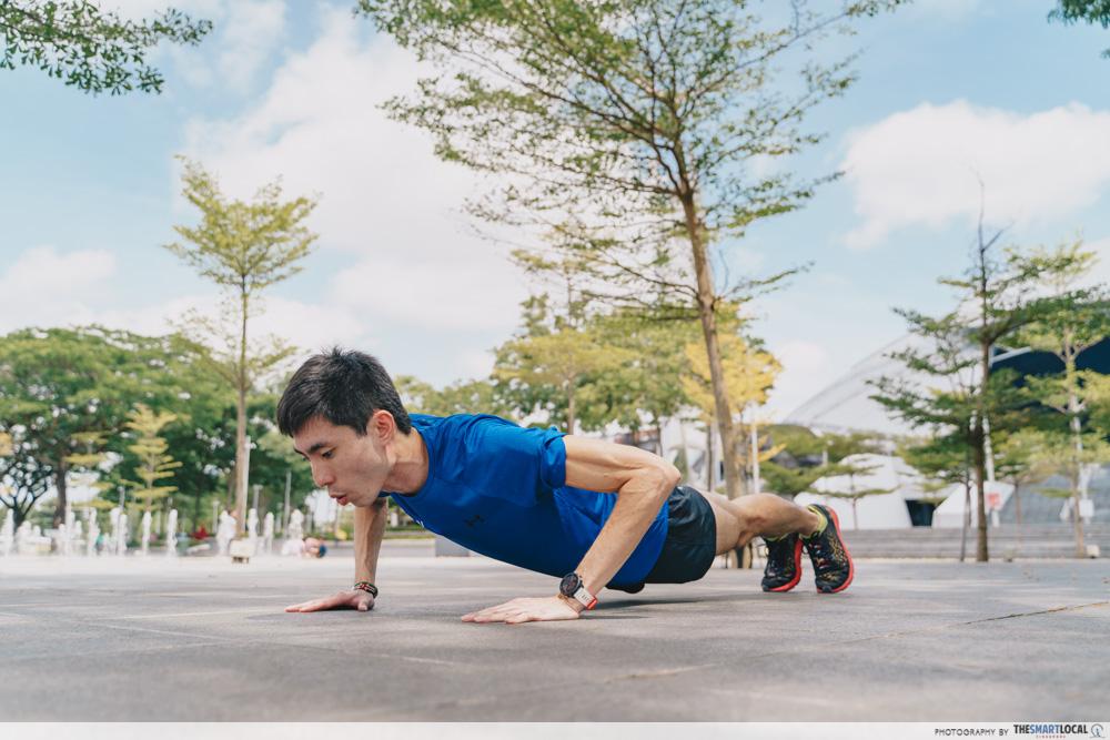 ippt running tips - Push Ups