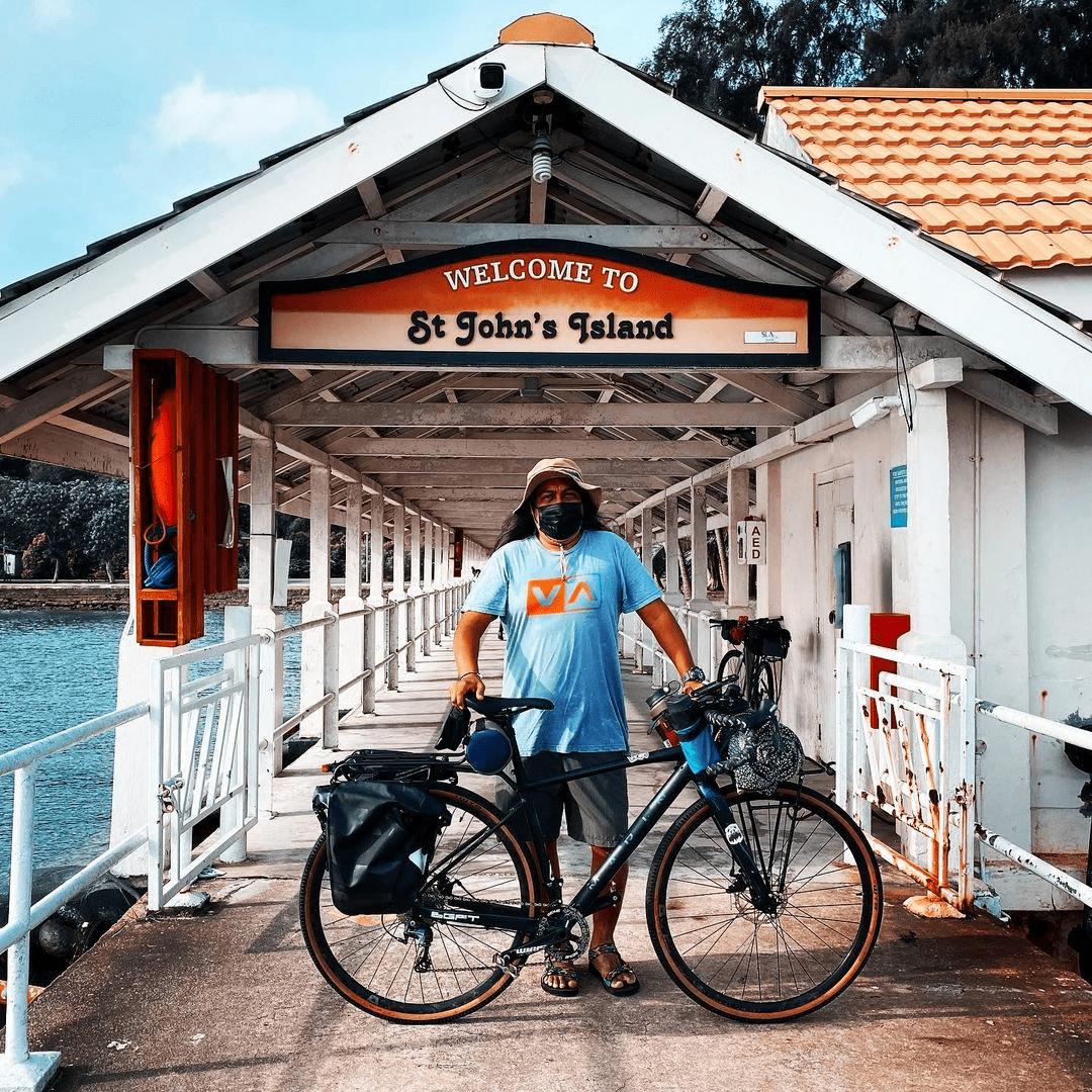 Cycling St. John's Island