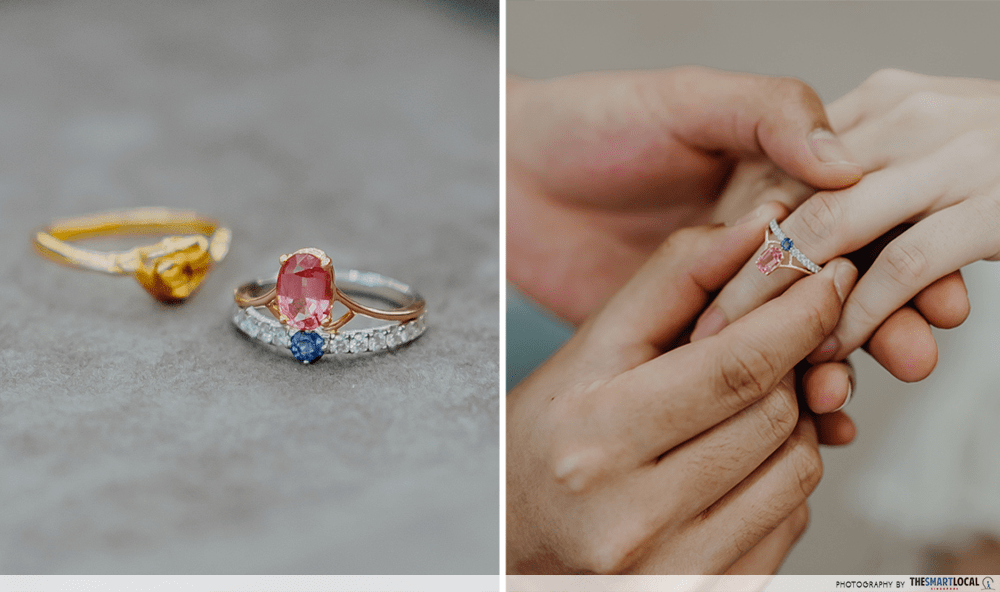 Engagement Ring Heirloom Jewels Singapore