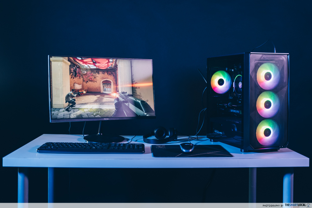 Aftershock RTS: RAPID custom PC build