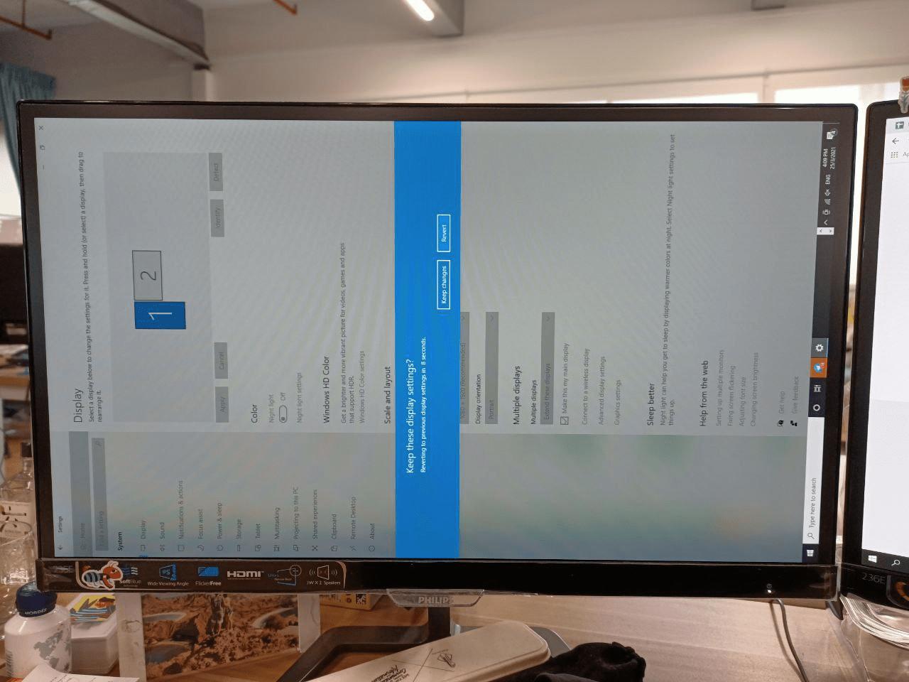 rotate screen