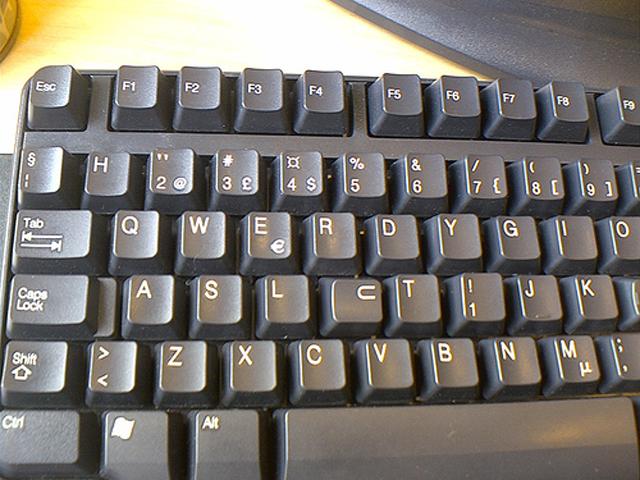 Keyboard scrabble