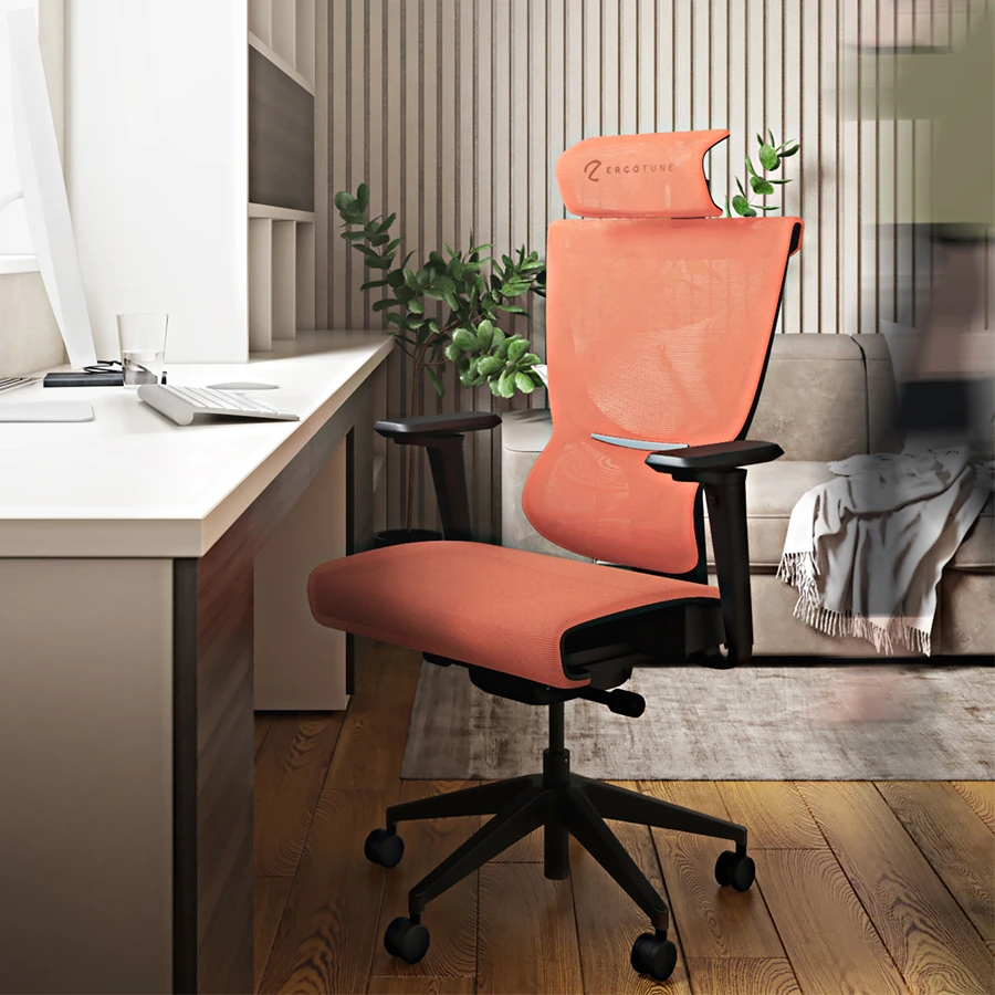 Ergotune Ergoedge Supreme is one of the most comfortable and breathable gaming chairs in singapore that's good for your posture